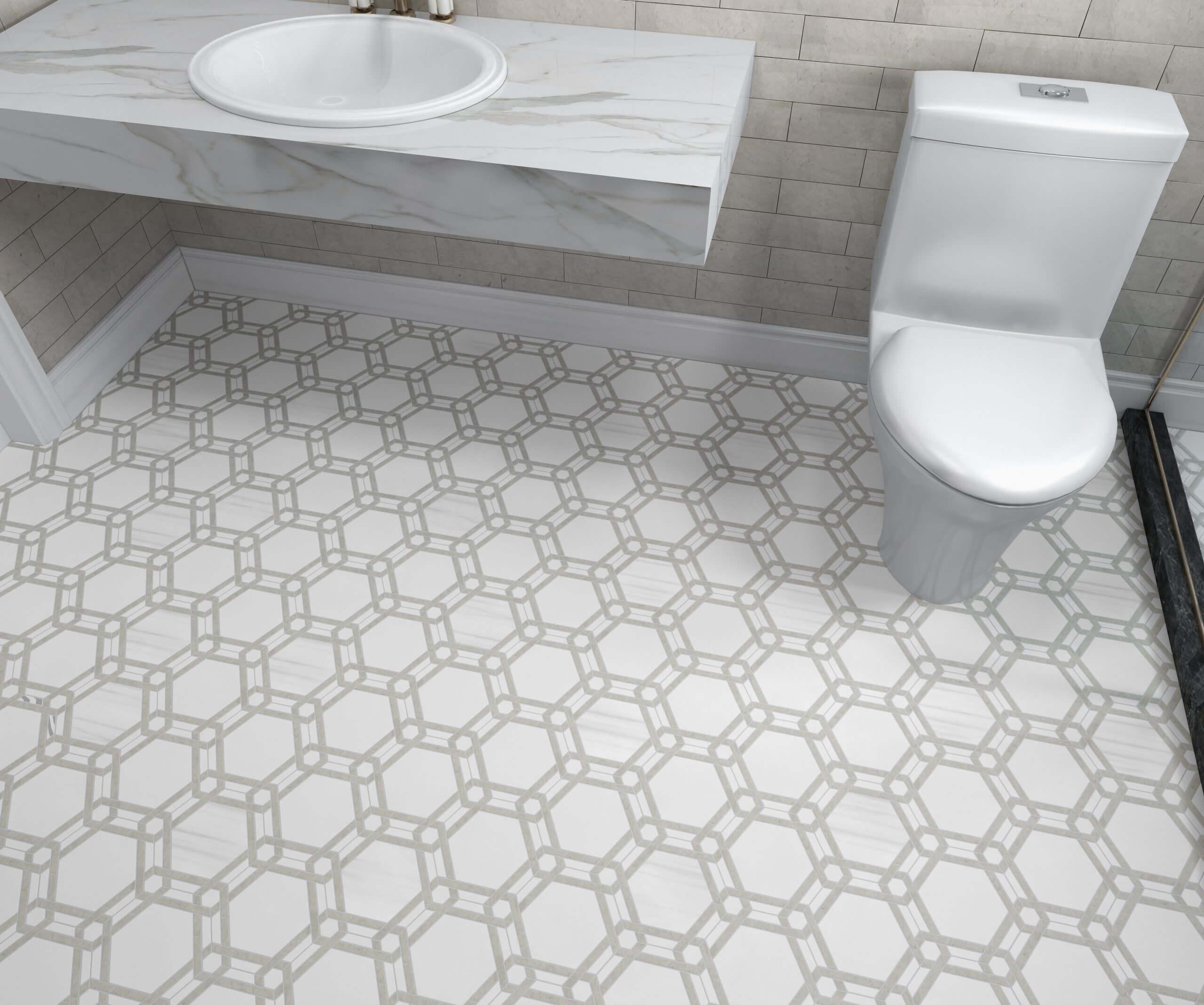 Lincoln Mosaic-Hex